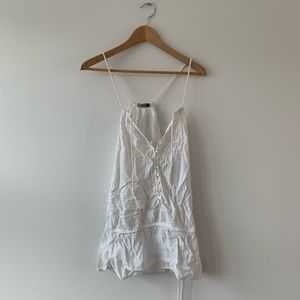 WHITE WILFRED TANK TOP